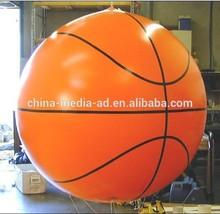 hot sale helium balloon basketball customized advertising
