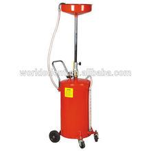 Estilo mais Popular de 18 galões de óleo Drainer com bomba e filtro auto evacuating