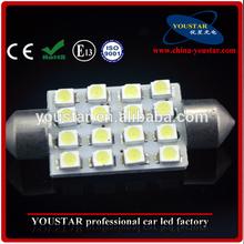 36mm 16 SMD LED Festoon c5w Interior Light Bulbs VW Transporter T4 T5