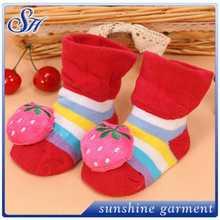 Calcetines del zapato de bebé