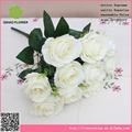 ramo de novia romántica al por mayor con rosa de flores atractivas para la novia