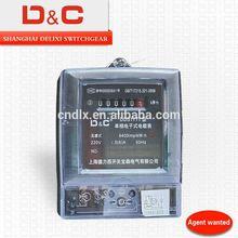 [D&C]Shanghai delixi prepaid electrical energy meter