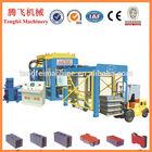 2014 new product mechanical vibration Method Automatic blocks and bricks machine with high quality QT10-15B
