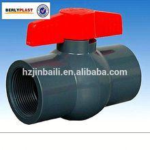 Hangzhou Jinbaili Pipe Industry Co.,Ltd PVC Din Rising Stem Gate Valve Pvc Ball Valve