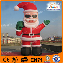 Hot-sale CE certificate inflatable air blown christmas santa