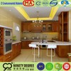 Customized design high quality pre finished plywood kitchen cabinet