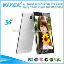 5.0'' ShenZhen manufaturer Quad core omes mobile phone dual sim card