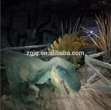 3M Small silicon gel dinosaur for indoor dinosaur exhibition