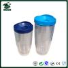 2014 double wall coffe cup , korean hot sell plasitc mug
