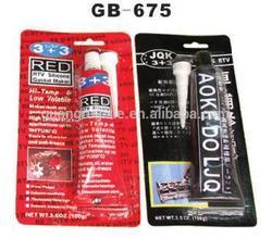 wholesale price high quality excavator sealant glue red/black