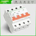 TONGOU TOMC3-63 4P mcb switch has 6KA rated short-circuit capacity.