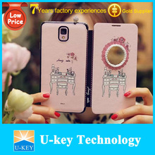 High quality wholesale Ultra thin Korea flip leather case for samsung galaxy s5 cover