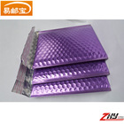 wholesale metallic bubble padded envelopes /customized printed bubble mailers custom envelopes/A4 purple decorative envelopes