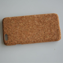 New arrive the real wood surface cork leather case for iPhone 6