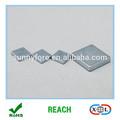 zinc plaqué bloc aimant pour les lecteurs de disque dur