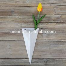 in ceramica bianca parete vaso di fiori vaso di fiori per la decorazione del giardino