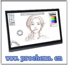 "19"" electronic Signature Pad /erasable drawing pad"