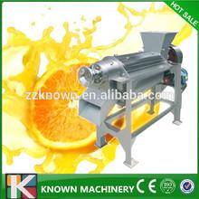 Haute efficacité Apple extracteur de jus / commerciale froid presse Extractor