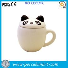 Kids favor animal ear lid cute Panda Cup