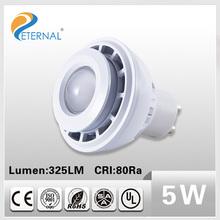 CE & ROHS certificate 5W Epistar SMD5050 Aluminum led spotlight 520lm 120degree