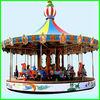 High quality wonderful rides children game equipment plastic carousel horse wiht ce