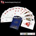 Comerciales personalizadas tarjeta de juego, tarjeta personalizada de impresión del juego, juego de fabricante de la tarjeta