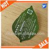 Top grade leaf shaped pvc punch card
