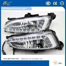 (11-12)Wholesale Competitive price Super Quality 12V Led Car Day Lighting for Hyundai Elantra LED Daytime Running Light