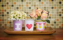 NEW birthday 26 ABC Letter Alphabet Alphabeth Paper Party cups celebration Deco Tableware 26 ALPHABET PAPER CUPS