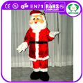 Hi CE navidad Santa Claus traje de la mascota de dibujos animados traje de la mascota