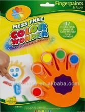 Finger drawing paint for children