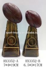 Lombardi Style Fantasy Football Resin Trophies