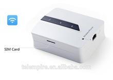 Mobile Power Bank 3G WiFi Router Sim Card Slot