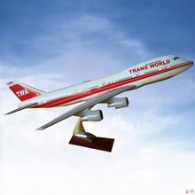 CUSTOMIZED LOGO RESIN MATERIAL dhl cargo model plane