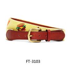 Factory Custom Needle Point Belts 2015 Popular Style