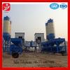 hot sale hzs50 ready mix concrete plant with hopper lifter