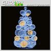 2014 Christmas Warm white LED lighted Ball Tree, Christmas Large Creative Sphere shape Tree