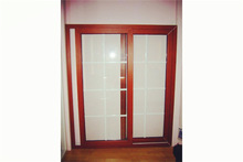 2014 New product fine quality curve sliding doors