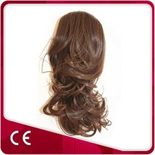 Heat Resistant Fiber Synthetic Hair Weaving Any Color and Style