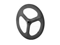 Hot sale carbon tubular wheels 3 spoke wheel