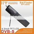 Trova-satellite digitale kpt-955g 4,3 pollici tft led del palmare multifunzionale hd via satellite finder& monitor