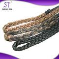 Calor- resistente kanekalon sintético xpression de tranças de cabelo