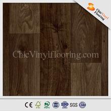 Commercial Waterproof PVC Floor Tile Like Wood