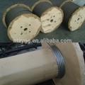 De acero de cuerda de alambre del carrete 500m/carrete 1000m/carrete de alta resistencia a la tracción de cable de acero
