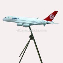 CUSTOMIZED LOGO RESIN MATERIAL display model civil aeroplane