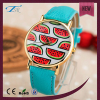 Albaba lady's leather wrist watch, albaba women watches with leather band