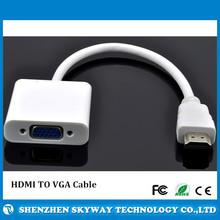 1080P hdmi to vga cable,hdmi to vga adapter,hdmi to vga converter for mac hdtv