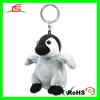 E067 Grey Penguin Stuffed Animal Keychain