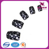 VIVINAIL top hot new heart designs fake artificial nails designs in metallic color