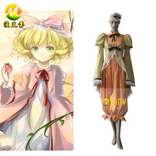New Special Rococo style Dress Costume Cosplay Anime Rozen Maiden Kanaria Canary Bird Cosplay Clothing Women Halloween Costume